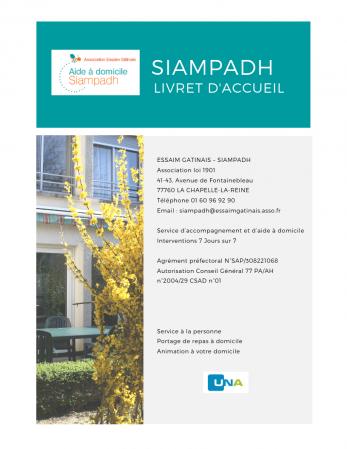 Livret d'accueil du SIAMPADH