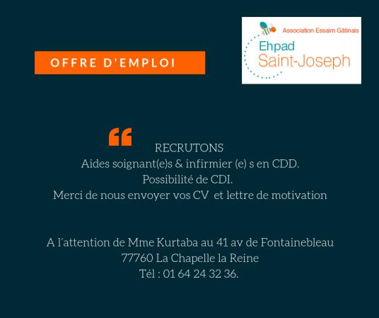 Offre d emploi 2