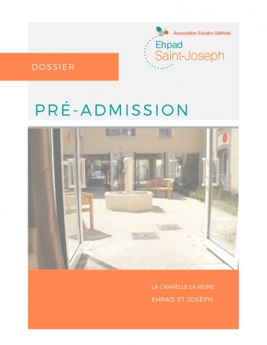 Pre admission
